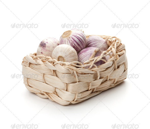 Pack of garlic - Stock Photo - Images