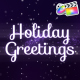 Holiday Magic Greetings | FCPX - VideoHive Item for Sale