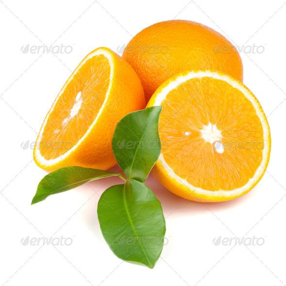 Fresh juicy oranges - Stock Photo - Images