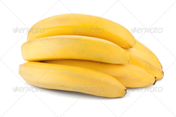Banana fruits - Stock Photo - Images