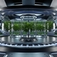 Hydroponics Lab room on spacecraft with robots taking care. - PhotoDune Item for Sale