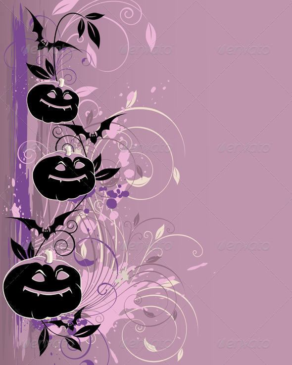 Violet  Halloween Background - Halloween Seasons/Holidays
