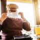 Senior man in cafe - PhotoDune Item for Sale