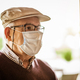 Senior man with face mask - PhotoDune Item for Sale