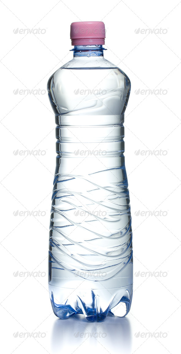 plastic water bottle - Stock Photo - Images