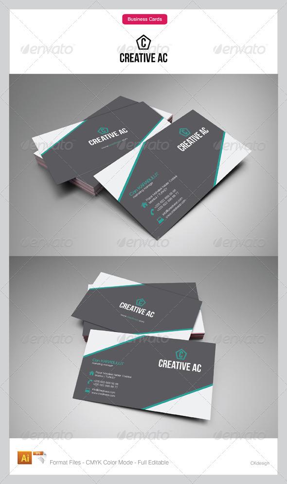 corporate business cards 67-6 - Corporate Business Cards