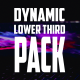 Dynamic Lower Third Pack || After Effects - VideoHive Item for Sale