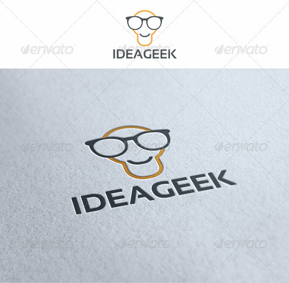 Geek Idea Logo Template - Symbols Logo Templates