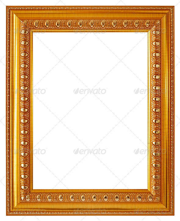 Wooden Photo Frame - Stock Photo - Images