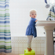 Cute toddler washing hands in the bathroom health photo - PhotoDune Item for Sale