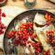 Dorado baked with viburnum - PhotoDune Item for Sale