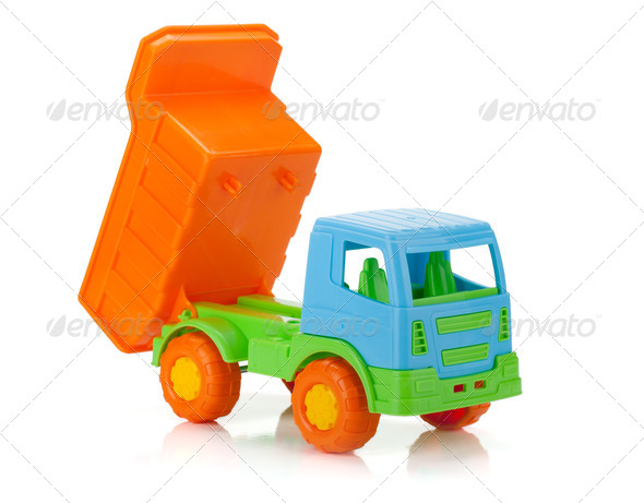 Color toy car - Stock Photo - Images