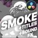 2D Cartoon Smoke | DaVinci Resolve - VideoHive Item for Sale
