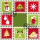 Sets of Colorful Christmas Stamp Postage - GraphicRiver Item for Sale