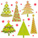 Set of Christmas Tree - GraphicRiver Item for Sale