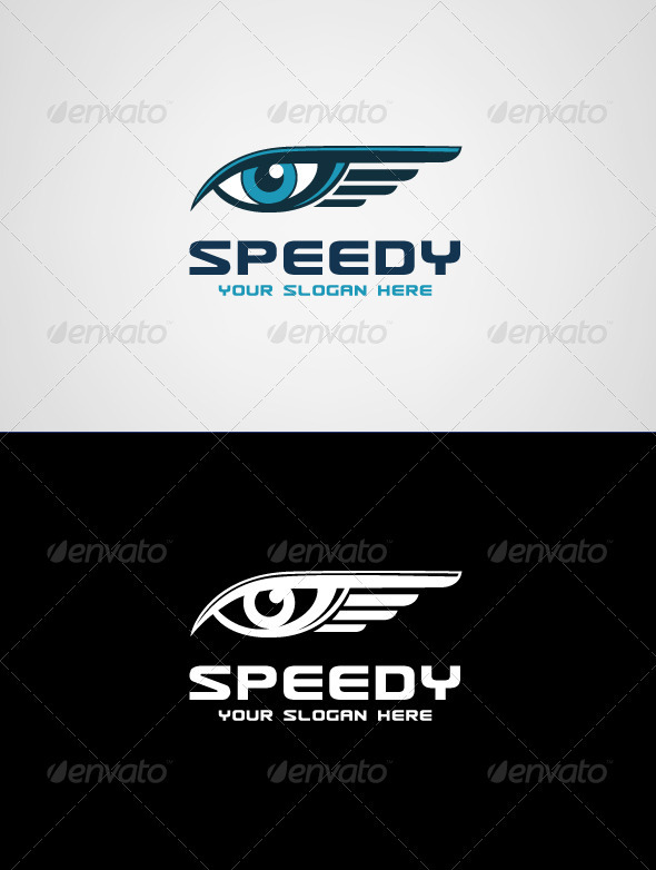 Speedy Delivery Logo Template - Symbols Logo Templates