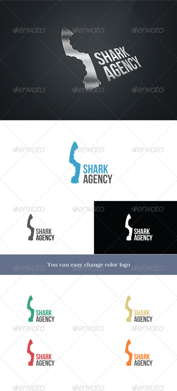 SharkAgency - Letters Logo Templates
