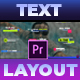 Simple and Modern Text Layout - VideoHive Item for Sale