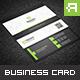 Creative & Elegant Business Card