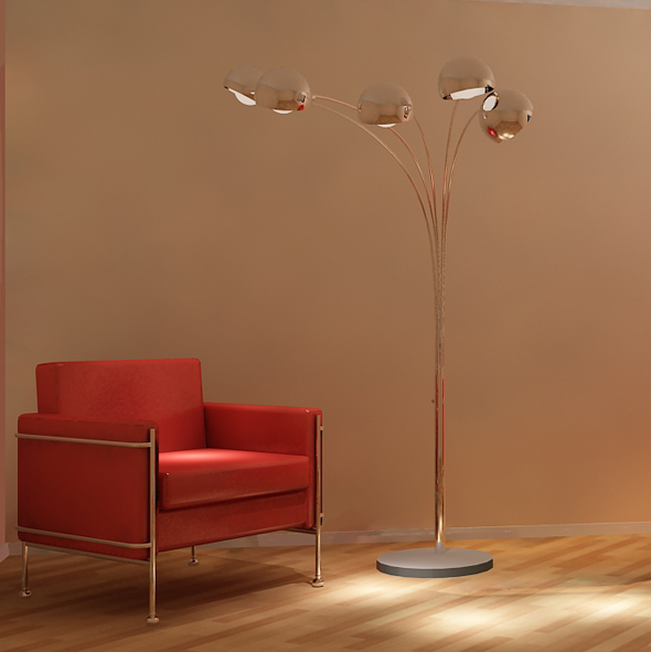 Modern Lighting unit02 - 3DOcean Item for Sale