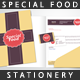 Special Food Stationery - GraphicRiver Item for Sale