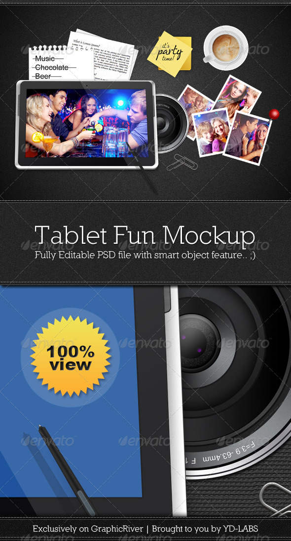 Tablet Fun - Mobile Displays