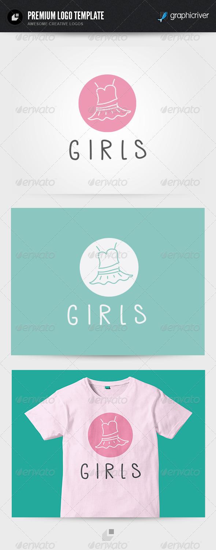 Girls Logo - Symbols Logo Templates
