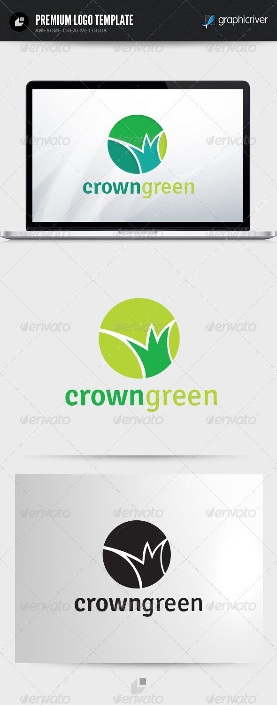 Crown Green Logo - Nature Logo Templates