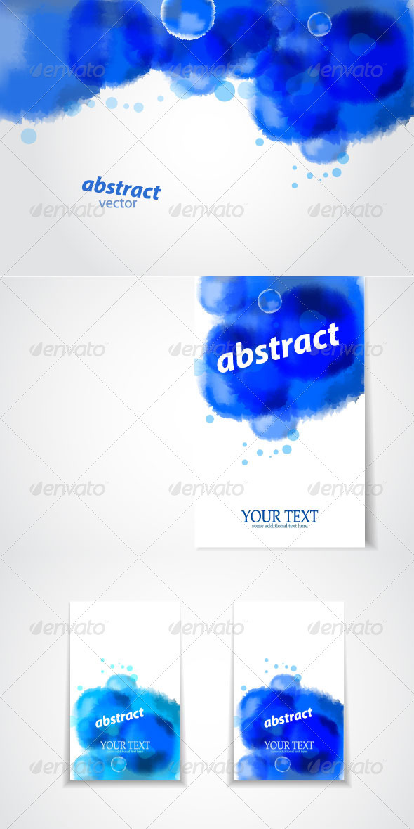 Blue Vector Creative Banners - Backgrounds Decorative