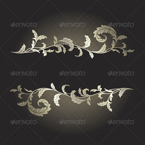 Black and silver background  - Backgrounds Decorative