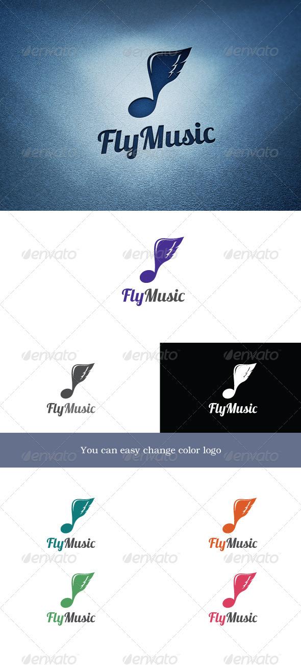FlyMusic - Symbols Logo Templates