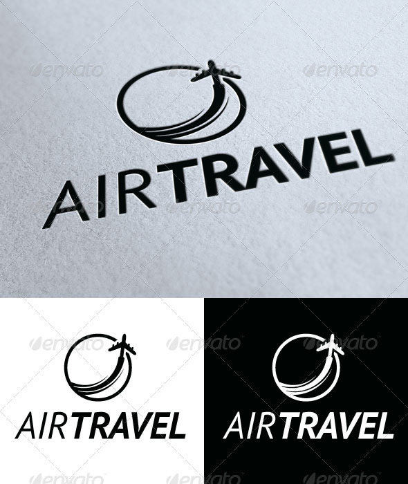 Air Travel - Objects Logo Templates