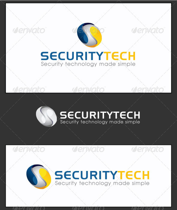 Edit Security Tech - Logo Template - Abstract Logo Templates