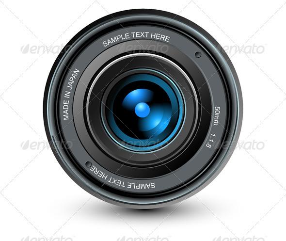 Camera Lens - Objects Vectors