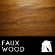 Faux Wood Background - GraphicRiver Item for Sale