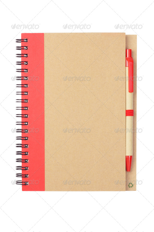 Note book and Pen - Stock Photo - Images