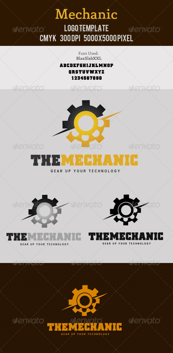 Mechanic Logo Template - Objects Logo Templates
