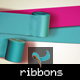 Stylish Ribbons Editable Composition - GraphicRiver Item for Sale