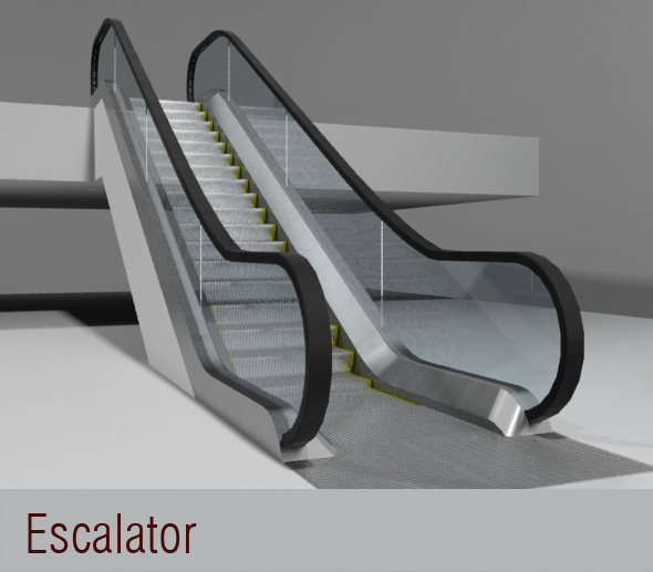 Escalator - 3DOcean Item for Sale