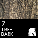 7 Hi-Res Tree Bark Backgrounds - GraphicRiver Item for Sale