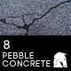 8 Hi-Res Pebbled Concrete Floor Backgrounds - GraphicRiver Item for Sale