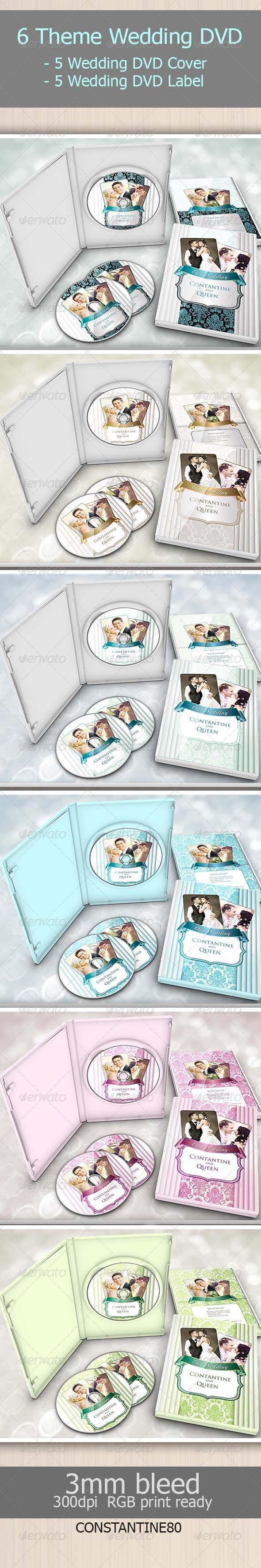 6 Theme Wedding Dvd - Weddings Cards & Invites