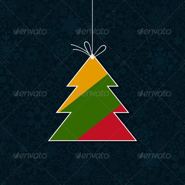 Celebratory tree9 - Christmas Seasons/Holidays