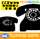 Telephone Shapes - GraphicRiver Item for Sale