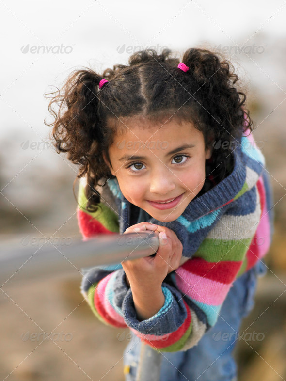 Portrait of girl - Stock Photo - Images