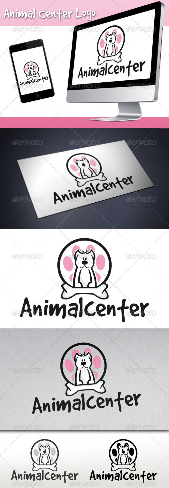 Animal Center Logo - Animals Logo Templates