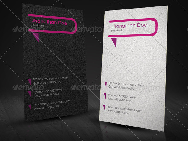 Comunication Company Business Card