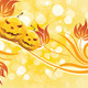Abstract Halloween Background with Flowers - GraphicRiver Item for Sale