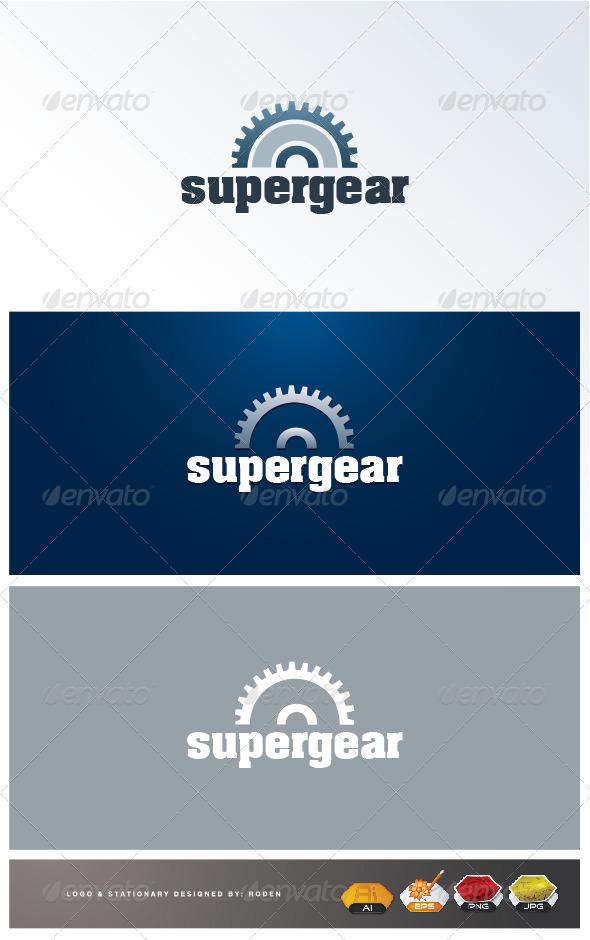 Gear Logo - Objects Logo Templates