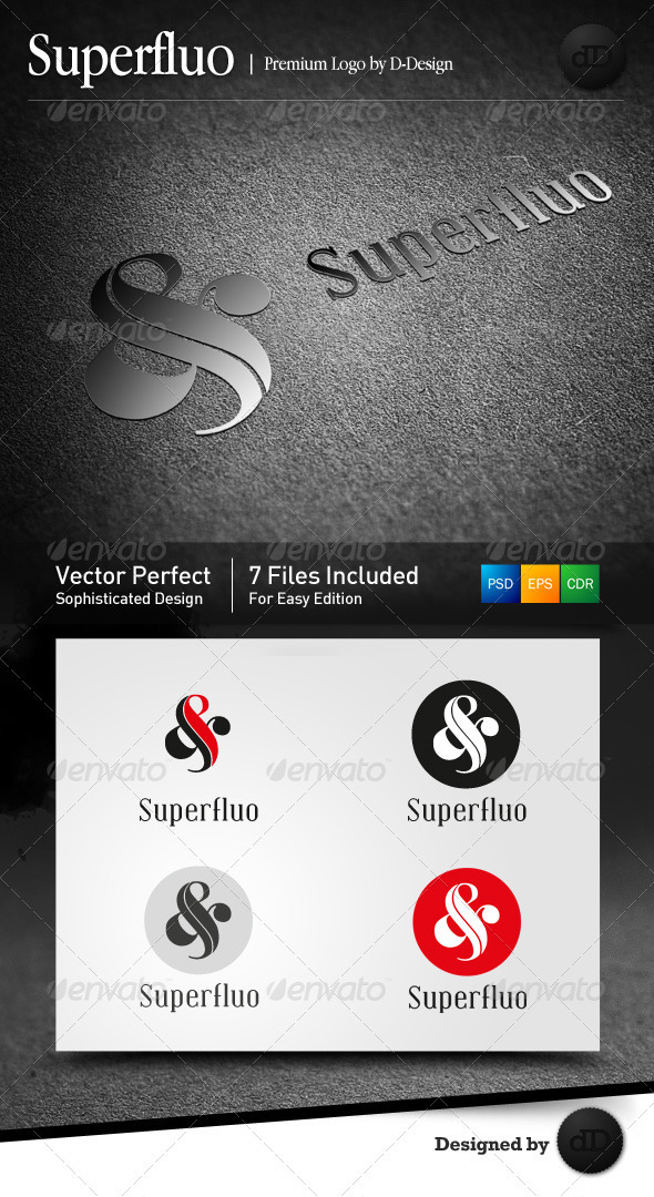 Superfluo Logo Template - Symbols Logo Templates